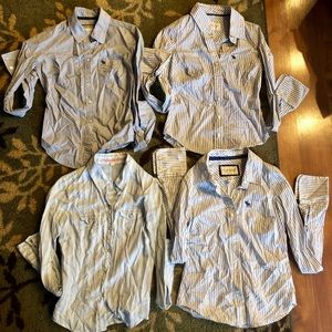 Fitted button down shirt